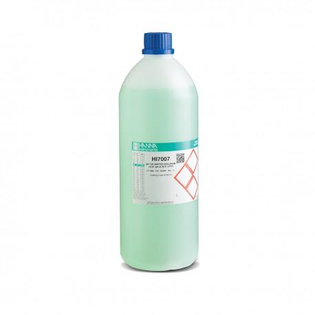 pH-buffertlösning 7.01pH 1 liter Färgad Grön