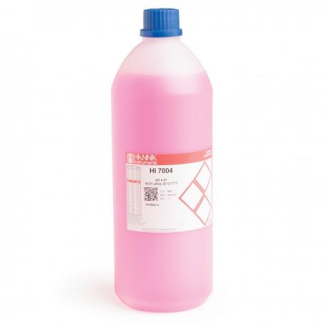 pH-buffertlösning 4.01pH 1 liter Färgad Röd