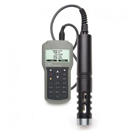 Multimätare pH/ORP/Syrehalt /Temp/ Vattentät HI-98196