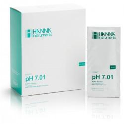 pH-buffertlösning 7.01pH  Engångspåsar (25st/fp)