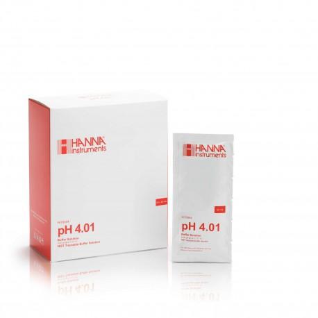 pH-buffertlösning 4.01pH  Engångspåsar (25st/fp)