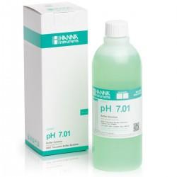 pH-buffertlösning 7.01pH 500ml Färgad Grön