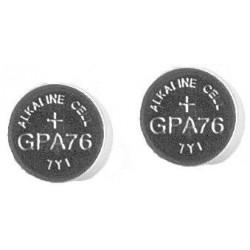Batterier - LR44/A76 /4st Knappcell