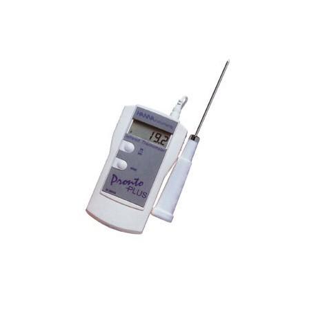 Termometer  IR och med Insticksgivare HI-99556-10