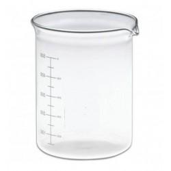 Bägare - 600ml glas låg stabil modell/10st