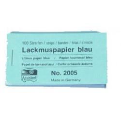 Lackmuspapper  blått