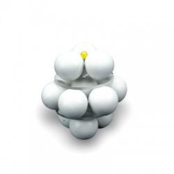 Molekylmodell Metall- Hexagonal max täthet