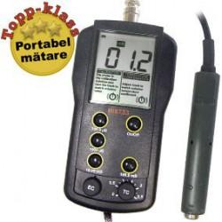 Konduktivitetsmätare portabel stort mätområde HI-8733