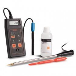 Konduktivitetsmätare potabel direkt i jorden HI-993310