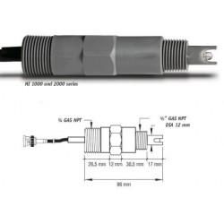 pH-elektrod HI-1001
