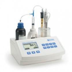 Titrator Mini pH- och Aciditetsmätare Fruktjuice HI-84532