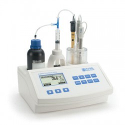 Titrator Mini pH- och Aciditetsmätare Mejeri HI-84529