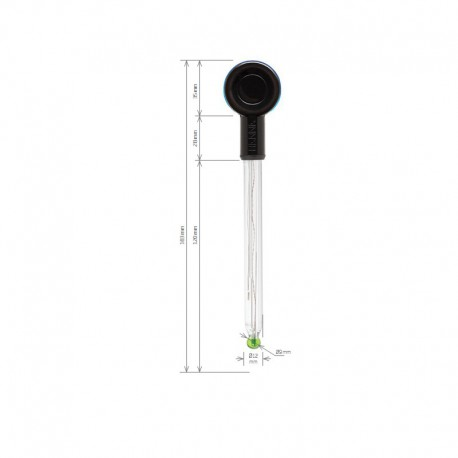 pH-Elektrod HALO™ Bluetooth® HI-11102 Glas gelfylld