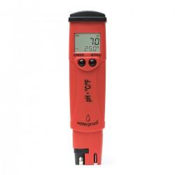 pH-testare med temperatur och utbytbar pH-elektrod ±0.1pH HI-98127
