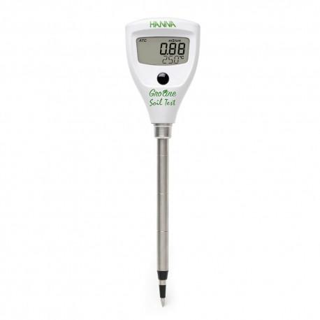 Konduktivitetstestare direkt i jorden HI-98331